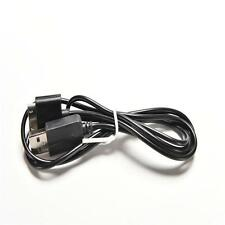 2-in-1 USB Charge Cable Data Transfer Power Charger for Sony PSP Go Black FTFT