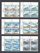ASCENSION 2013 SG 1150/61 MNH Blocks of 4 Cat £112
