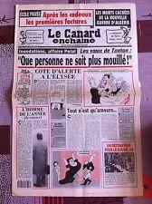 Le Canard Enchainé 29/12/1993; Les mort cachées de la nouvelle guerre d'Algérie
