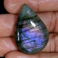 Natural Purple Fire Spectrolite Labradorite Cabochon Multi Flash Gemstone A1Gems