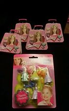NEW Barbie Pendants Party Favors Supplies Gifts Metal Suitcases 2003
