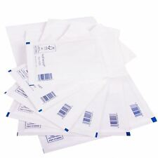 PADDED BUBBLE Featherpost BAGS mailers ENVELOPES White  A / 000 - 50 or 100