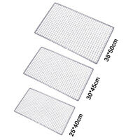 Hot Stainless Steel Barbecue BBQ  Grate Grid Wire Mesh Rack Cooking