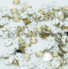 1000 Rhinestone Sew On Gem Acrylic Diamante Beads Sewing Trimming Decoration