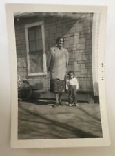 Vintage African American Photograph Mother & Cute Little Boy