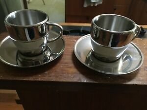 Stainless steel coffee cups - Aventi