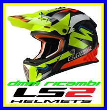 Casco LS2 MX437 Fast Replica Isaac Vinales Tg.XL Cross Enduro Motard Quad Atv