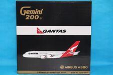 Brand New Gemini Jets 1:200 Qantas Airways Airbus A380-800 G2QFA510 With Stand