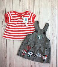 Vestido pichi y Camiseta Al Abordaje de TUC TUC (talla 18 meses)