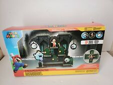 NINTENDO SUPER MARIO DELUXE BOO MANSION PLAYSET 10 PIECES NEW OTHER FAST SHIP