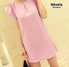 womens lilac shift dress size 8 au new