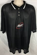 Vintage Bootleg Nike Air Jersey Collar Mesh Embroidered Size Xl