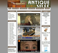 ANTIQUE STORE - Make Money With Your Own Amazon Store Business Website