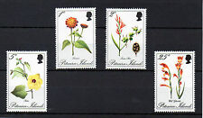 Mint Never Hinged/MNH Flowers Pitcairn Islander Stamps