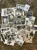 #5 Lot of 45 Vintage Black and White Photographs Snapshots