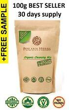 Cleanse Detox Súper Alimento Verde Pasto de trigo orgánico, barleygrass, Spirulina, Chlorella