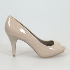 Open Toe Formal Slim Heels for Women