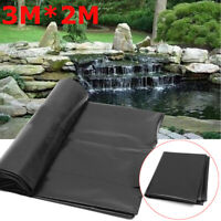 10FT Pond Liner Membrane Reinforced Garden Pool Landscaping Underlay 3*2M USA