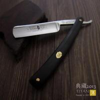 Titan Razor Hand Made Sharpen Old Fashion Straight Razor Free Shipping New Gift