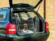DOG RESIDENCE BY SAVIC IN-CAR DOG CRATE, SLOPED DESIGN FOR 5-DOOR CARS 91CM