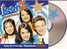 JEENZ - zichtbaar CD SINGLE 2TR (ROBBIE WILLIAMS COVER) 2004 RARE!