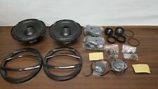"Precision Power 6.5"" 110W 2-Way Component BC.65 Black Ice Car Audio Speaker Set"