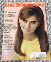 APRIL 1967 GOOD HOUSEKEEPING MAGAZINE 60'S ADS 21 HAIRDOS