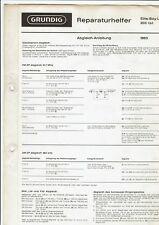 Grundig Original Service Manual für Elite-Boy Luxus L (a) 203