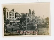 WW2 Photograph 1945 China Burma India Ledo Road CBI Assam India Trams City View