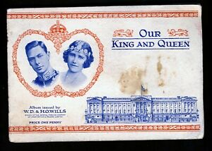 """Wills """"Our King and Queen"""". An album containing a full set of 50 cards."""