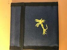 Fly Fishing Leader Wallet 10 Removable Sleeves Pocket Line Tippet Bag