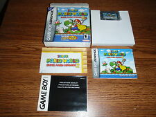 SUPER MARIO WORLD 2 NINTENDO GAME BOY ADVANCE GAME COMPLETE BOXED GBA