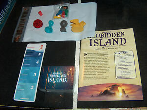 Forbidden Island Replacement Parts/Pieces/Cards -