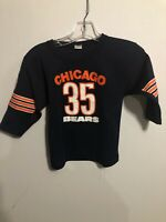 Vintage Hutch Chicago Bears Youth Jersey Small Made In USA Neal Anderson 80s