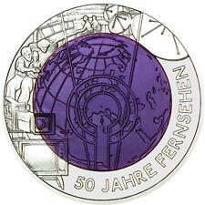 25 Euro Silber Niob HgH 50 Jahre Fernsehen Österreich 2005 Silver Austria
