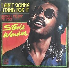 "Stevie Wonder - I Ain't Gonna Stand For It  - Vinyl 7"" 45T (Single)"