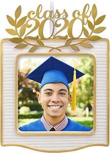 Congrats, Grad! 2020 Porcelain and Metal Photo Frame Ornament