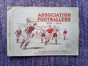 WD & HO Wills Full Set Of 50 Association Footballers 1935-1936 Cigarette Cards