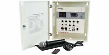 Adastra Sa180 Secure Wall Mixer-Amplifier with Media Player & Uhf Mic Lockable