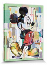 Micky Maus - Disney Zeichentrick Poster Leinwand-Druck Bild (80x60cm) #115457