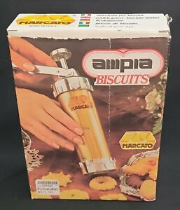 Ampia Marcato Cookie Press Biscuit Maker Noodle Made In Italy