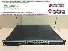 Enterasys SecureStack C3 C3G124-24 - conmutador administrado 24 puertos