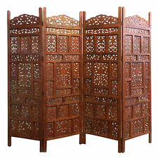 Paravent Jaipur Raumteiler Raumtrenner Trennwand Mangobaumholz Dekoration