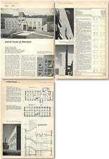 1963 New Animal House At Aberdeen For Medical Research Purposes, Design, Plan