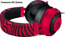 Razer Kraken PRO V2 Neon Red PewDiePie Gaming Headset Oval Cushion RZ04-02050800