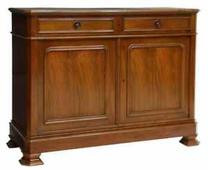 French Louis Philippe Style sideboard chest cabinet