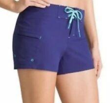 Athleta Clearwater Board Shorts 0 (XS) Purple Swimshort Clear Water Swim