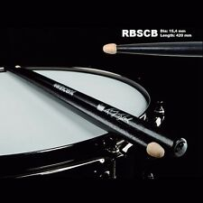 Wincent Randy Black Signature Drumsticks nero black finish 3 paia