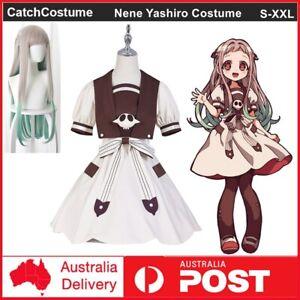 Toilet-Bound Hanako-kun Nene Yashiro Aoi Akane Cosplay Costume Wig Uniform Dress