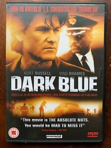 Dark Blue DVD 2002 LA Riots Police Corruption Thriller Movie w/ Kurt Russell